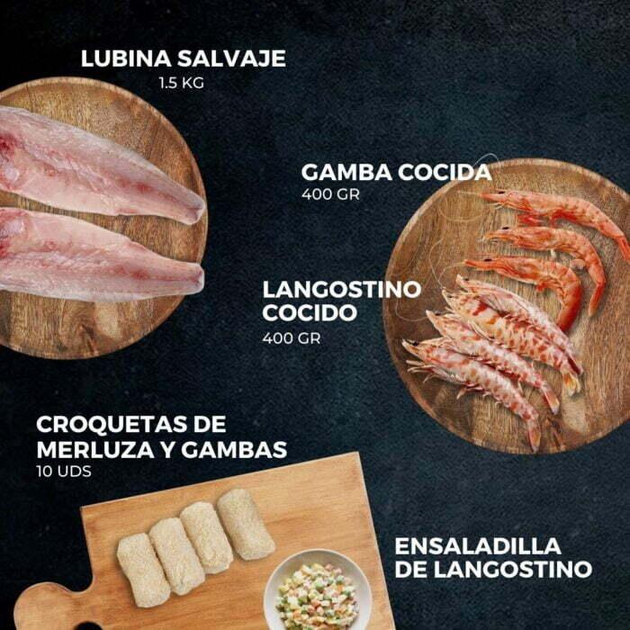 Cesta Gourmet Pilares   Pescados Saturnino